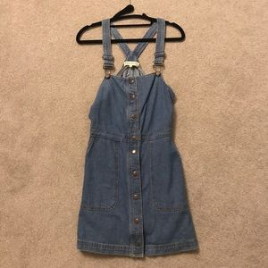 Vintage denim dress (overall)